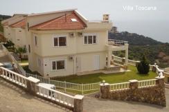 Lüks sınıfı elit konut kompleksi içinde satılık villa — Mahmutlar