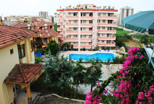 For sale a duplex apartment in the ALKOM Residential Complex – Mahmutlar