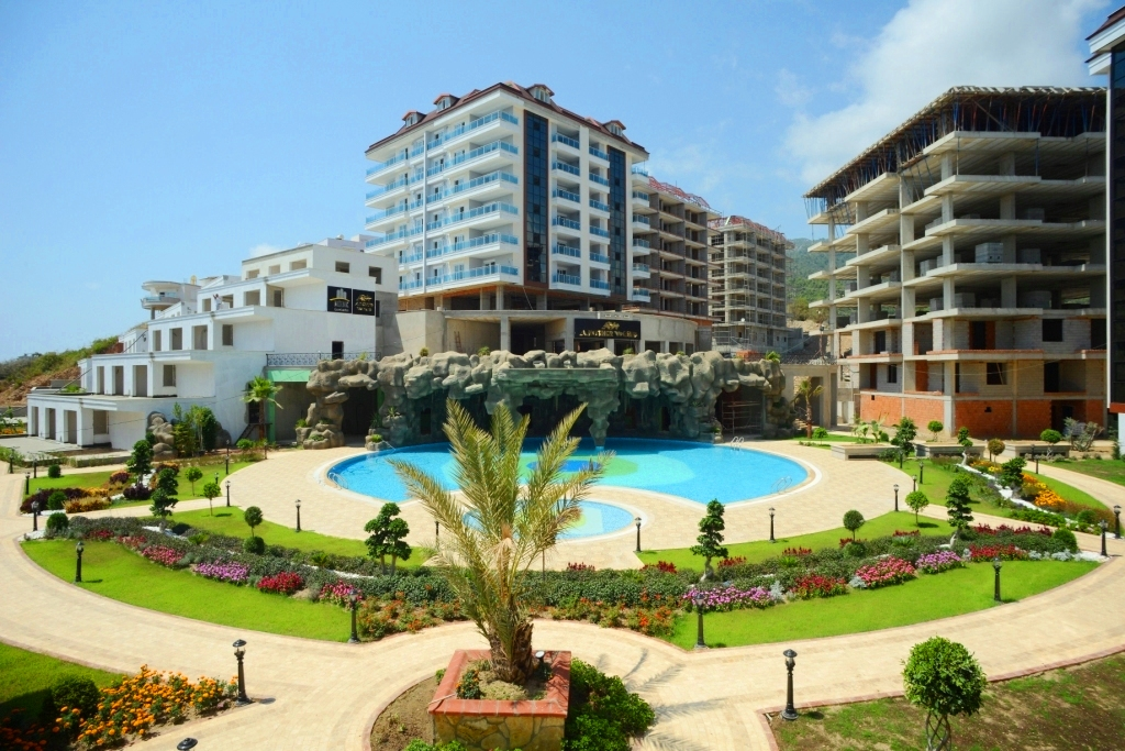 Роскошная резиденция предлагает различные виды жилья и цены.