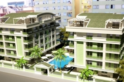 New luxurious project of two 5-storey buildings, – Antalya