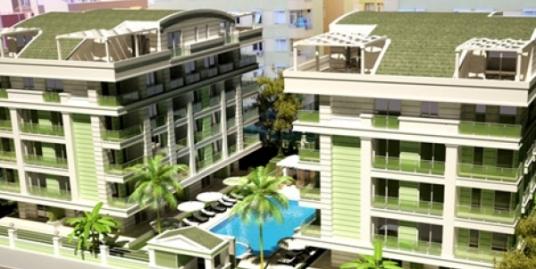 Новый элитный проект, состоящий из двух пятиэтажных блоков.