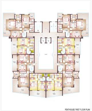 Plan penthouse 1st fl.