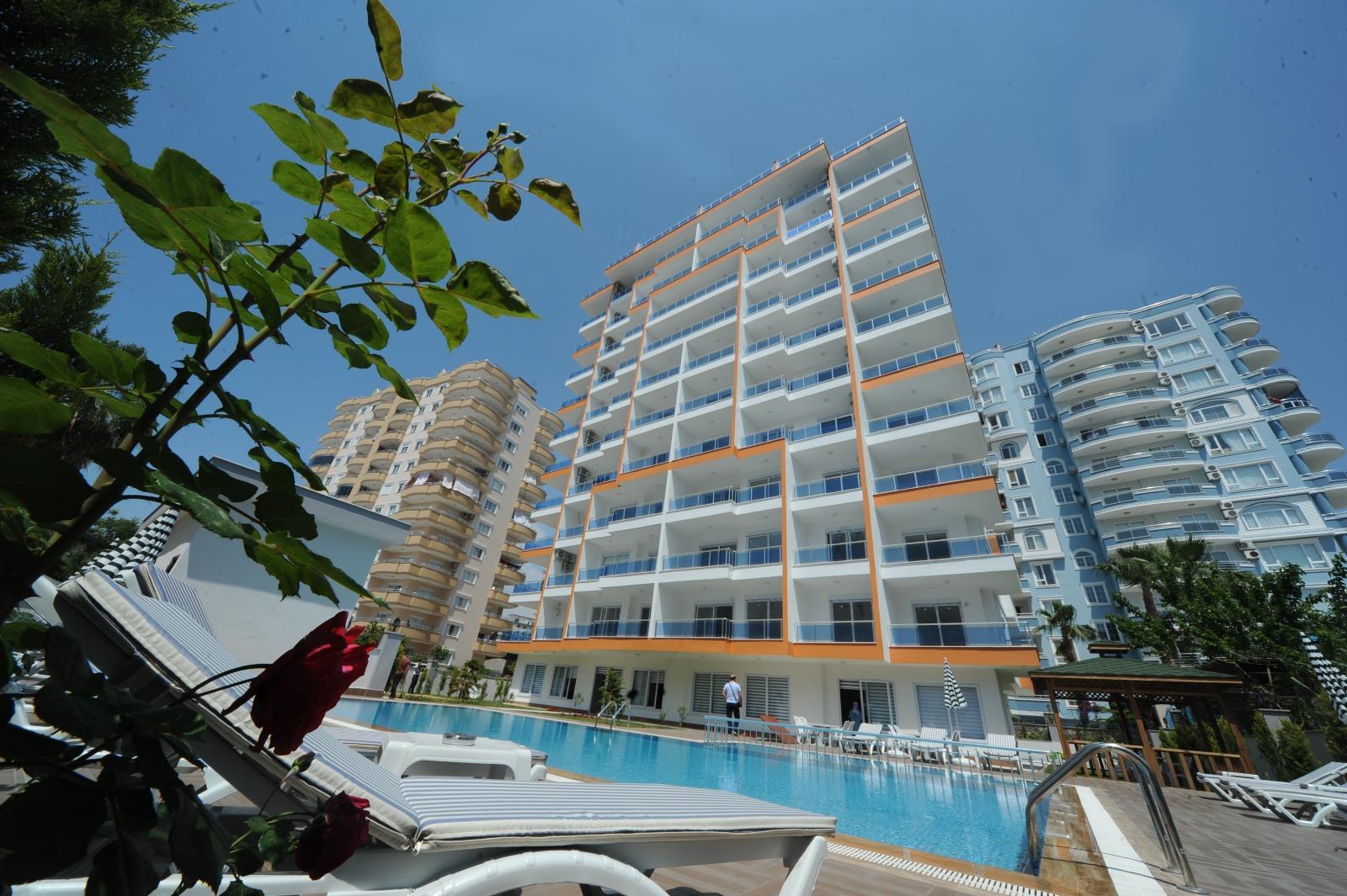 1+1 новая просторная квартира в Алании/Махмутлар в ЖК евро класса