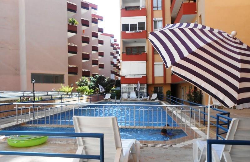 Самая дешевая квартира в Алании в комплексе с бассейном.