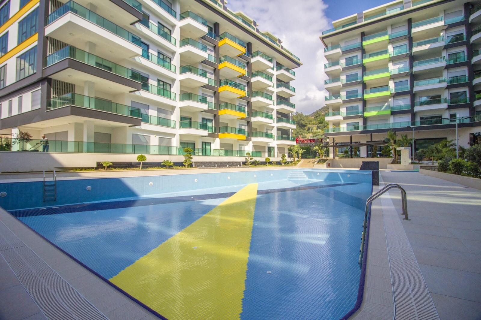 Дюплекс 2+1 в ЖК Konak Resort, стоимостью 110.000 евро